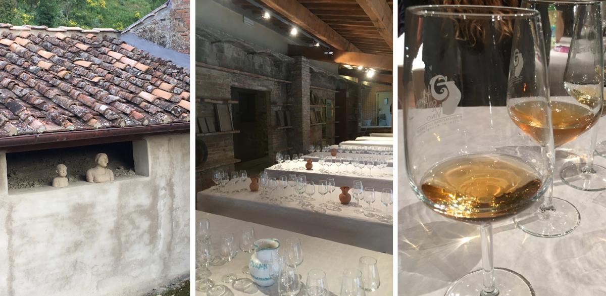 VIAGGIO IN ITALIA, CAPSULE DI GRAND TOUR A BORDO DI NAVICELLE D'ARGILLA: I VINI IN ANFORA