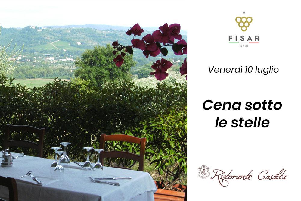 Ricominciamo da noi   Cena sotto le stelle @ Casalta